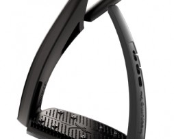 Freejump Soft Up Pro Safety Stirrups in Black