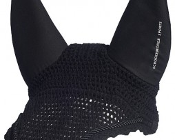 Silent Ears Soundless Bonnet in Black