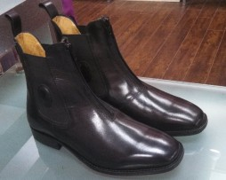 De Niro Paddock Boots Giove Front View