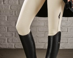Equiline Ash X Grip Breeches in Beige