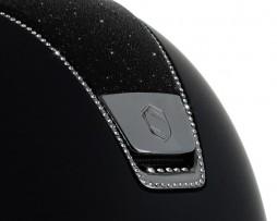 Samshield Shadowmatt Top Crystal Fabric 255 Swarovski Helmet