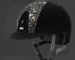 KEP Italia Cromo Black Lace Helmet