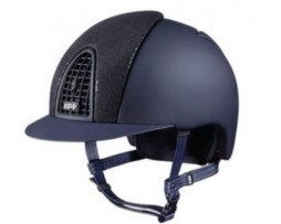 KEP Italia Cromo Blue Glitter Textile Helmet