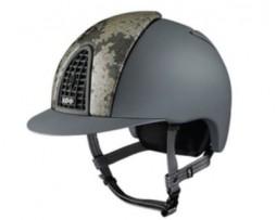 KEP Italia Cromo Grey Lamionate Textile Helmet