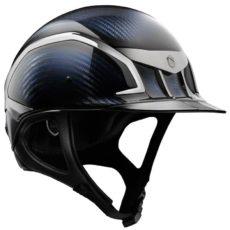 Samshield XC J Glossy Blue Helmet - Front View